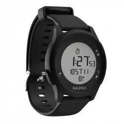 Montre chronomètre ATW100 KALENJI coloris noir