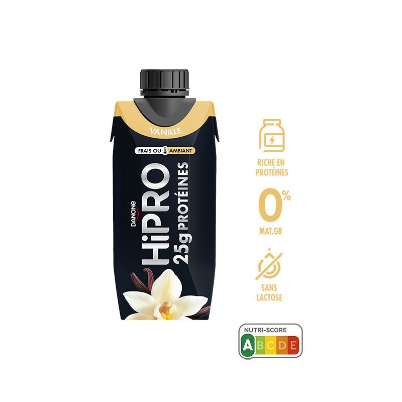 HiPRO à boire saveur vanille UHT 345g : infos, avis et ...
