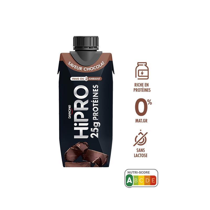 Avis/test HiPRO à boire saveur chocolat UHT 345g