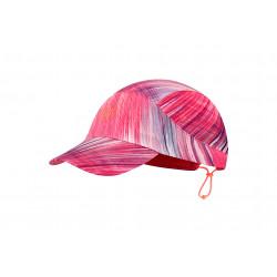Buff Pack Run Cap Pixel Pink Casquettes / bandeaux