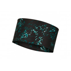 Buff Coolnet UV+ Headband Speckle Black Casquettes / bandeaux