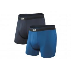 Saxx Lot de 2 boxers Sport Mesh M vêtement running homme