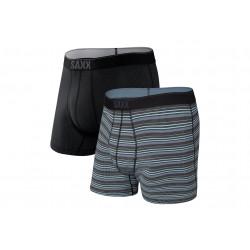 Saxx Lot de 2 boxers Quest M vêtement running homme