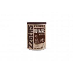 226ers Veggie protein Brownie - Poudre de cacao et morceaux de chocolat - 420 g Diététique