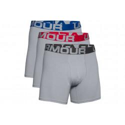Under Armour Lot de 3 boxers Charged Cotton vêtement running homme