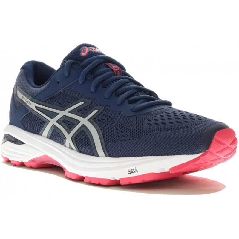 chaussure running femme gel gt 1000 5 asics asics