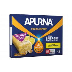 Apurna Barres énergétiques - Citron/Amande Diététique Barres