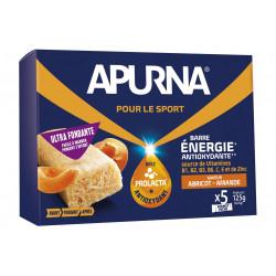 Apurna Barres énergétiques - Abricot/Amande Diététique Barres
