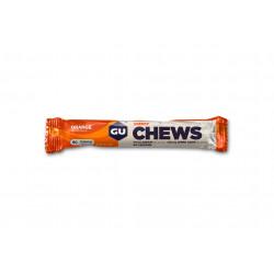 GU Gomme à mâcher Chews Orange Diététique Barres