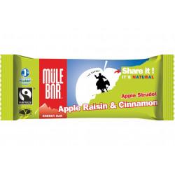 Mulebar Barre Energétique Apple Strudel - Pomme/Raisin/Cannelle Diététique Barres