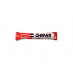 GU Gomme à mâcher Chews Fraise Diététique Barres