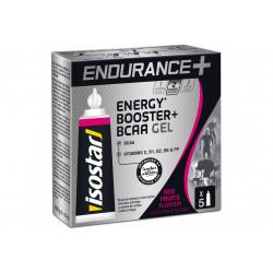 Isostar Gel Endurance + Energy Booster + B.C.A.A - Fruits Rouges Diététique Gels