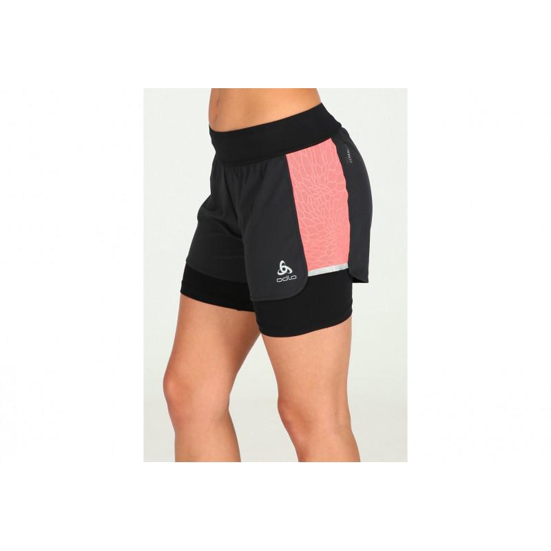 W Femme Zeroweight Vêtement Running Odlo Ceramicool 2en1 c5jLqA3R4