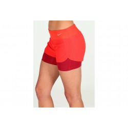 Nike Short Rival Jacquard 7.5cm 2en1 W vêtement running femme
