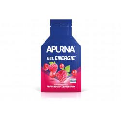 Test et avis du Gel Energie Apurna - Framboise Cranberry