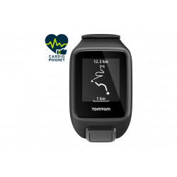 Tomtom Runner 3 Cardio Black Edition - Large Cardio-Gps