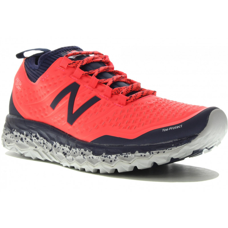 New Balance pose chaussures de course