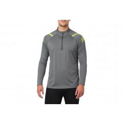 Asics Icon LS 1/2 zip M vêtement running homme