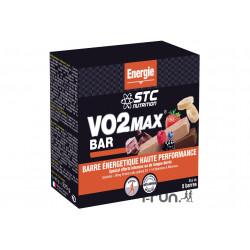 STC Nutrition Etui 5 Barres VO2 Max fruits rouges Diététique Barres