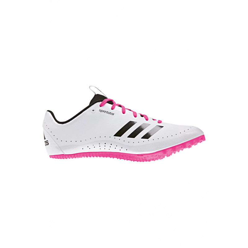 Pour Adidas Pointes Sprintstar Chaussures Femme Blanc qq8HwaY