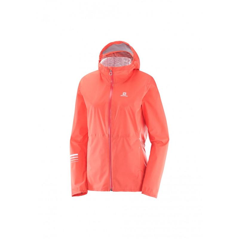 Rose Femme Salomon Pour Jacket Course Vestes Lightning wqawxv6YX