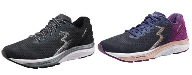 sur runagora, avis et tests de chaussures de Running Sensation 3 de 361° - exemple de modèles pour femmes