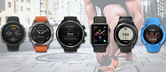 montres running cardio gps modèles