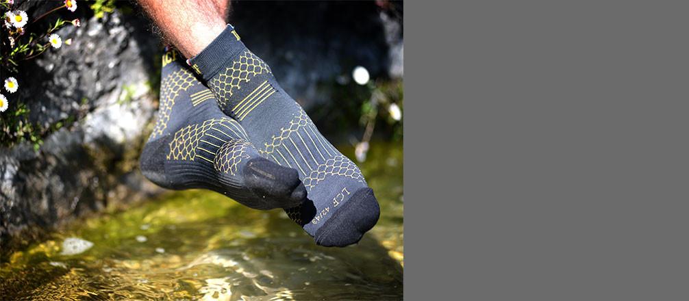 Runagora : tests / avis chaussette Alberta de la marque Chaussette de France