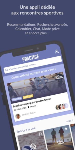 Découvrez Practice l'application mobile gratuite dédiée aux rencontres sportives, partenaire de runagora